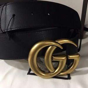 Gucci belt gold marmont